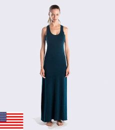 Ladies' 5.2 oz. Triblend Racerback Over-Dyed Dress