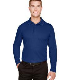 Devon and Jones DG20L CrownLux Performance™ Men's Plaited Long Sleeve Polo