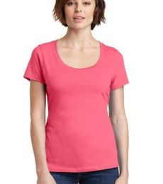 DM106L District Made® Ladies Perfect Weight® Scoop Tee