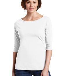 DM107L District Made® Ladies Perfect Weight® 3/4-Sleeve Tee