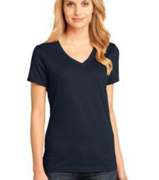 District Made DM1170L Ladies Perfect Weight V Neck Tee