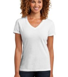 DM1190L District Made Ladies Perfect Blend V-Neck Tee