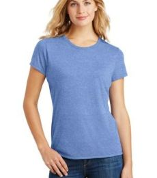 DM130L District Made Ladies Perfect Tri-Blend Crew Tee