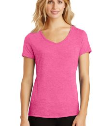 DM1350L District Made Ladies Perfect Tri-Blend V-Neck