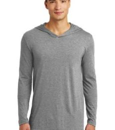 District Made DM139    Mens Perfect Tri   Long Sleeve Hoodie