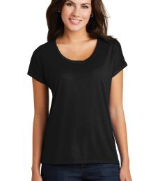 District Made DM412    Ladies Drapey Dolman Tee