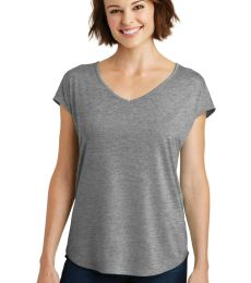 District Made DM416    Ladies Drapey Cross-Back Tee
