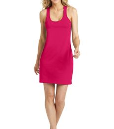 DM423 District Made Ladies Poly-Cotton Racerback Dress