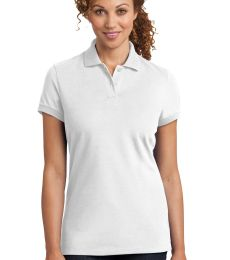 DM425 District Made™ Ladies Stretch Pique Polo