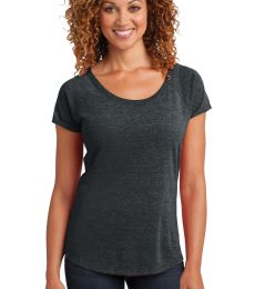 DM443 District Made™ Ladies Tri-Blend Scoop Tee