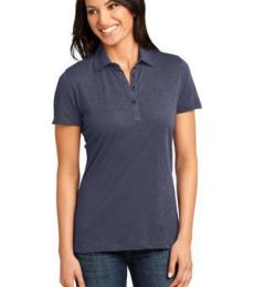 District Made DM450 Ladies Slub Polo