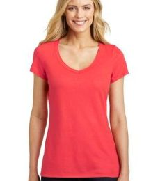 DM456 District Made® Ladies Shimmer V-Neck Tee