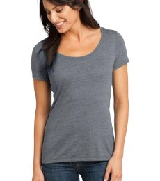 District Made 153 Ladies Textured Scoop Tee DM471