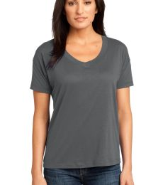 District Made 153 Ladies Modal Blend Relaxed V Neck Tee DM480