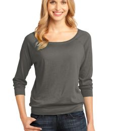 District Made 482 Ladies Modal Blend 3/4 Sleeve Raglan