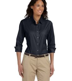 DP625W Devon & Jones Ladies' Three-Quarter-Sleeve Stretch Poplin Blouse