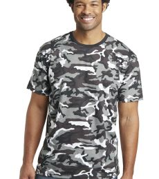 District Made 153 Mens Perfect Weight Camo Crew Tee DT104C