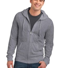 DT1100 District® Young Mens Lightweight Jersey Full-Zip Hoodie
