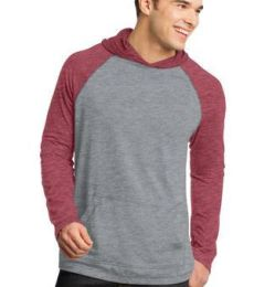 DT128 District Young Mens 50/50 Raglan Hoodie
