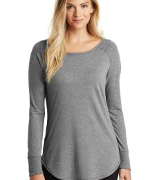 DT132L District Made  Ladies Perfect Tri  Long Sleeve