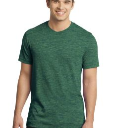 District  DT1400 Young Mens Gravel 50/50 Notch Crew Tee