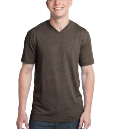 District Young Mens Tri Blend V Neck Tee DT142V