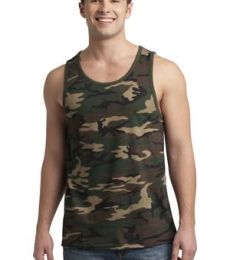 District Young Mens Cotton Ringer Tank DT1500