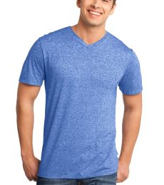 District DT161 CLOSEOUT  - Young Mens Microburn V-Neck Tee