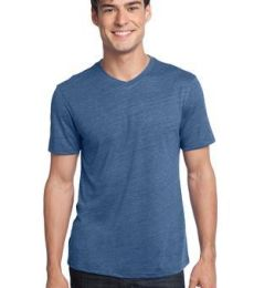 District Young Mens Textured Notch Crew Tee DT172