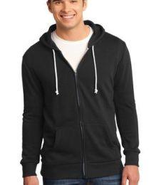 District Young Mens Core Fleece Full Zip Hoodie DT190