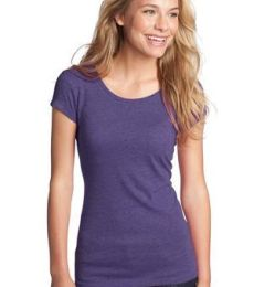 District Juniors Textured Girly Crew Tee DT270