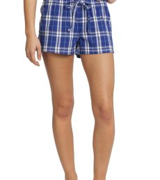 District DT2801    -Juniors Flannel Plaid Boxer