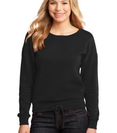 District DT293 CLOSEOUT  - Juniors Core Fleece Wide Neck Pullover