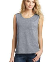 DT4301 District® Juniors Vintage Wash Muscle Tank