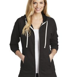 District Clothing DT456 District    Women's Perfect Tri    French Terry Full-Zip Hoodie
