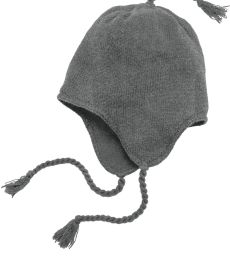 DT604 District Knit Beanie with Ear Flaps