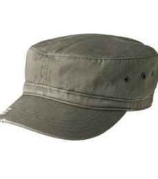 District DT605    - Distressed Military Hat