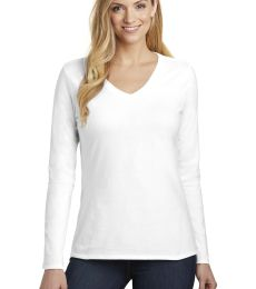 District Clothing DT6201 District    Women's Very Important Tee    Long Sleeve V-Neck