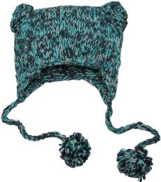 DT626 District Hand Knit Cat-Eared Beanie