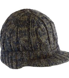 DT628 District Cabled Brimmed Hat