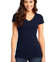 DT6501 District® - Juniors Very Important Tee® V-Neck