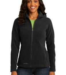 EB206 Eddie Bauer® Ladies Hooded Full-Zip Fleece Jacket