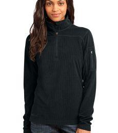 Eddie Bauer Ladies 14 Zip Grid Fleece Pullover EB221
