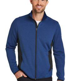 Eddie Bauer EB238  Full-Zip Heather Stretch Fleece Jacket