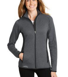 Eddie Bauer EB239  Ladies Full-Zip Heather Stretch Fleece Jacket