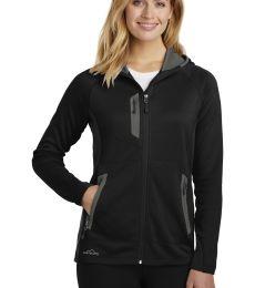 Eddie Bauer EB245   Ladies Sport Hooded Full-Zip Fleece Jacket