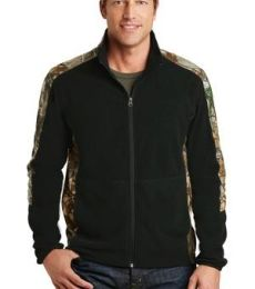 Port Authority F230C    Camouflage Microfleece Full-Zip Jacket