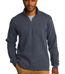 Port Authority F295    Slub Fleece 1/4-Zip Pullover
