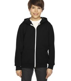 F297 American Apparel Youth Flex Fleece Zip Hoodie
