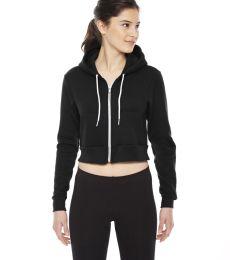 F397 Cropped Flex Fleece Zip Hoodie